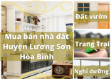 Tìm mua bán nhà đất huyện Lương Sơn tại sandatvang.com.vn